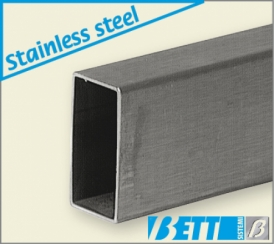 Rectangular 25x50 stainless steel tube