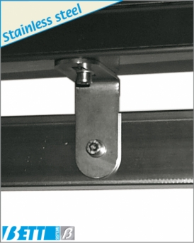 Fastening bracket for cable carrier
