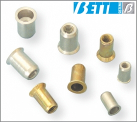 Threaded insert with countersunk head UNI 9203