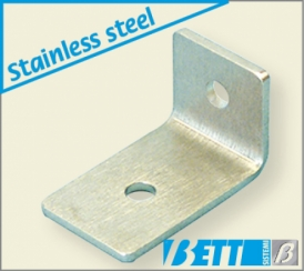 Edge protector for bracket fitting of machine guards