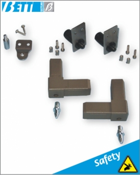 Assembly kit for pull-out panel with pin