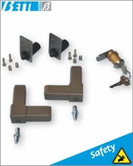 Assembly kit for pull-out panel with key