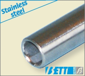 Steel connection tube stainless steel