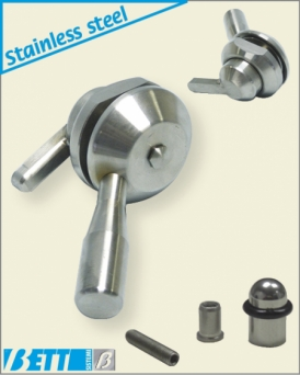 Pharma stainless steel lever handle