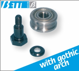 Concentric roller kit with pin
