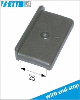 Plate for door alignment for 25x25 tube