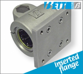 With flange with linear bearing