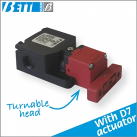 PIZZATO FW switch with D7 actuator