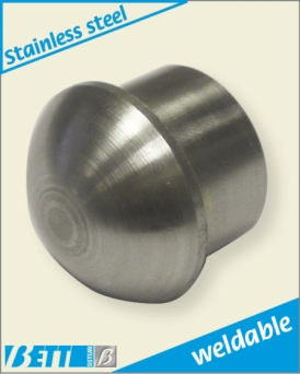Ball end piece weldable