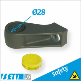 Ø28 head safety coupling