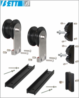 Kit for single sliding door