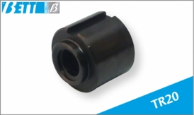 Threaded lead nut for TR20 trapeze screw