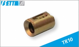 Threaded lead nut for TR10 trapeze screw