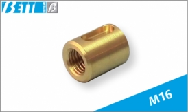 Threaded lead nut for M16 metric screw