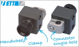 Format change clamp pin holder