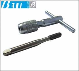 M8 male threader with tap wrench